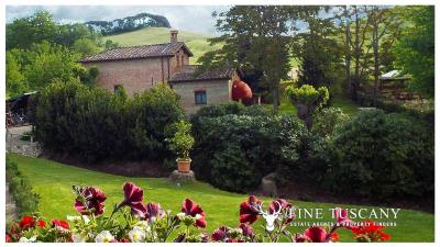 Property-with-pool-and-land-for-sale-in-Monteroni-d-Arbia--Chianti--Siena--Tuscany--Italy-4
