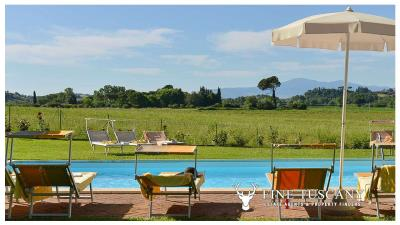 Property-with-pool-and-land-for-sale-in-Monteroni-d-Arbia--Chianti--Siena--Tuscany--Italy-7