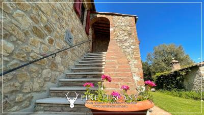Stone-Farmhouse-with-land-for-sale-between-Siena-and-Grosseto-Tuscany-Italy-12