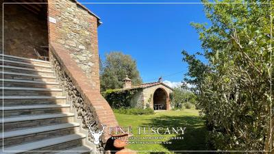 Stone-Farmhouse-with-land-for-sale-between-Siena-and-Grosseto-Tuscany-Italy-14