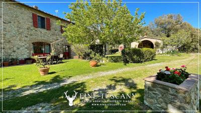 Stone-Farmhouse-with-land-for-sale-between-Siena-and-Grosseto-Tuscany-Italy-18