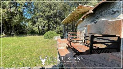 Stone-Farmhouse-with-land-for-sale-between-Siena-and-Grosseto-Tuscany-Italy-29