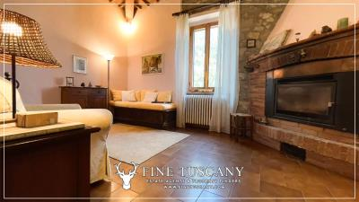 Stone-Farmhouse-with-land-for-sale-between-Siena-and-Grosseto-Tuscany-Italy-64