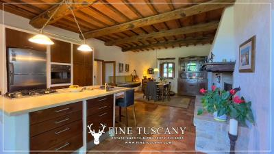 Stone-Farmhouse-with-land-for-sale-between-Siena-and-Grosseto-Tuscany-Italy-65