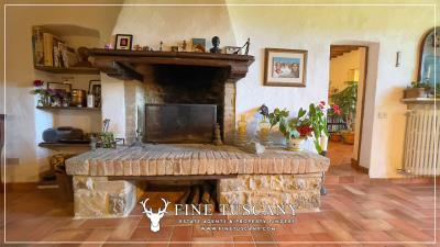 Stone-Farmhouse-with-land-for-sale-between-Siena-and-Grosseto-Tuscany-Italy-69