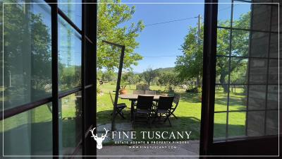 Stone-Farmhouse-with-land-for-sale-between-Siena-and-Grosseto-Tuscany-Italy-73