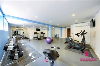 Choeng-Mon-Apartments-For-Sale-Koh-Samui-Fully-Equipped-Gym