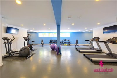 Choeng-Mon-Apartments-For-Sale-Koh-Samui-Gym