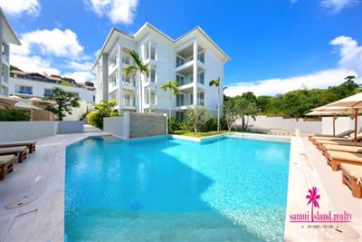 Choeng-Mon-Apartments-For-Sale-Koh-Samui-Swimming-Pool