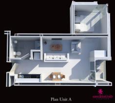 Image No.9-Appartement de 1 chambre à vendre à Choeng Mon