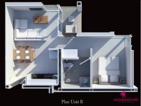 Image No.10-Appartement de 1 chambre à vendre à Choeng Mon