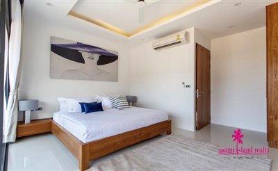 Choeng-Mon-2-Bedroom-Townhouses-Samui-Bedroom-1