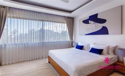 Choeng-Mon-2-Bedroom-Townhouses-Samui-Bedroom-2