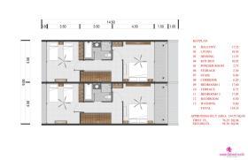 Image No.17-Maison de ville de 2 chambres à vendre à Choeng Mon