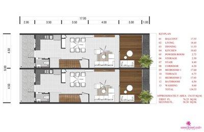 Choeng-Mon-2-Bedroom-Townhouses-Samui-ground-floor-plan