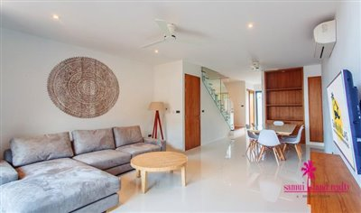 Choeng-Mon-2-Bedroom-Townhouses-Samui-Living