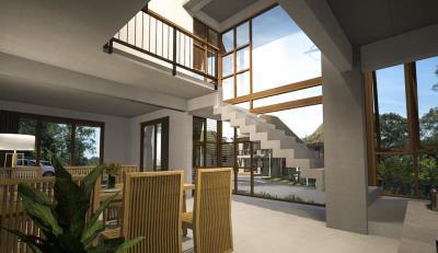 Tree-House-Villa-Ko-Samui-Stairs