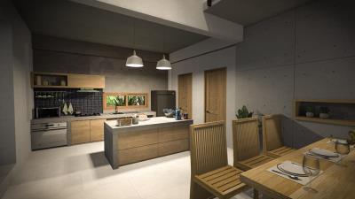 Tree-House-Villa-Ko-Samui-Kitchen