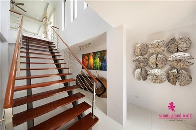 Bang-Rak-3-Bedroom-Villas-For-Sale-Entrance-Stairs