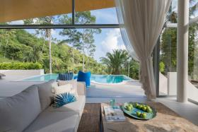 Image No.4-Villa de 3 chambres à vendre à Lamai