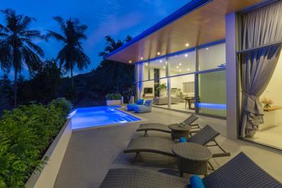 Samui-Oasis-Development-Villa-Bijou-Terrace-Night