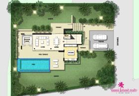 Image No.17-Villa de 3 chambres à vendre à Bo Phut