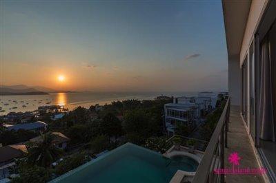 modern-sea-view-villa-for-sale-koh-samui-bedroom-balcony-view
