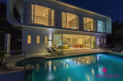 modern-sea-view-villa-for-sale-koh-samui-exterior-night