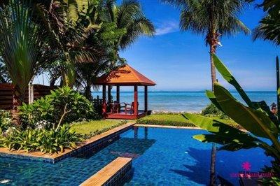 Lipa-noi-beachfront-villa-for-sale-samui-pool-sala