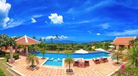 Image No.1-Villa de 5 chambres à vendre à Bo Phut