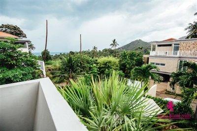Chaweng-3-Bedroom-Pool-Villa-Samui-Balcony-View