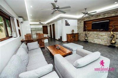 Chaweng-3-Bedroom-Pool-Villa-Samui-Living-Area