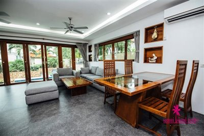 Chaweng-3-Bedroom-Pool-Villa-Samui-Lounge
