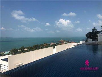 Sea-View-Penthouse-Apartment-For-Sale-Ko-Samui-Pool