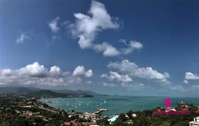 Sea-View-Penthouse-Apartment-For-Sale-Ko-Samui-Panoramic