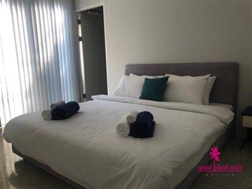 Sea-View-Penthouse-Apartment-For-Sale-Ko-Samui-Bedroom