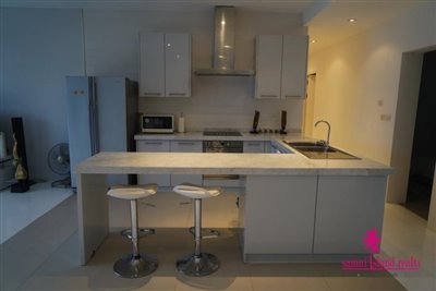 Sea-View-Penthouse-Apartment-For-Sale-Ko-Samui-Western-Kitchen