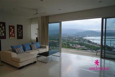 Sea-View-Penthouse-Apartment-For-Sale-Ko-Samui-Lounge