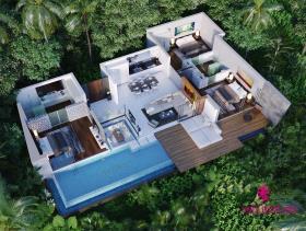 Image No.13-Villa de 3 chambres à vendre à Bo Phut