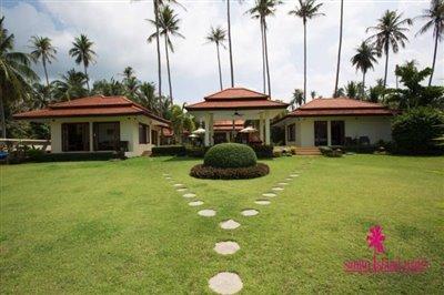 Baan-Tawan-Chai-Beachfront-Villa-Samui-Grass-Lawn