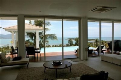 Contemporary-Luxury-Sea-View-Villa-Ko-Samui-Living-View