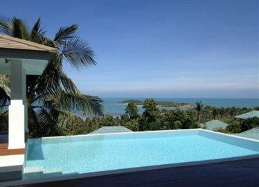 Contemporary-Luxury-Sea-View-Villa-Ko-Samui-Pool