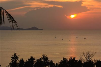 Contemporary-Luxury-Sea-View-Villa-Ko-Samui-Sunset