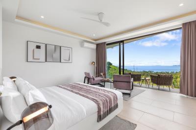 Stunning-Sea-View-Villas-Ko-Samui-Bedroom-3
