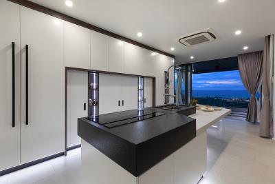 Stunning-Sea-View-Villas-Ko-Samui-Kitchen-Night