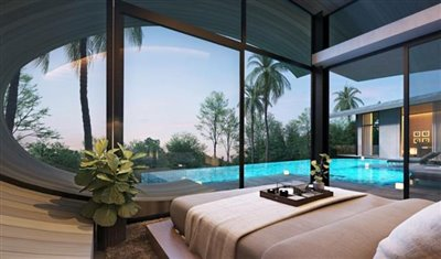 The-Lux-Samui-Development-Chaweng-Noi-Bedroom-Rendering