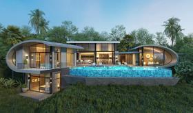 Image No.1-Villa de 3 chambres à vendre à Chaweng Noi