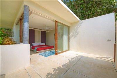 Samujana-Ko-Samui-Villa-11A-Bedroom-Terrace