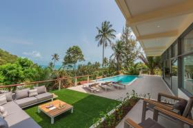 Image No.2-Maison / Villa de 4 chambres à vendre à Lamai
