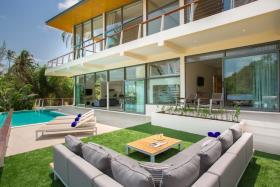 Image No.1-Maison / Villa de 4 chambres à vendre à Lamai